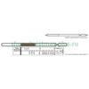 Индикаторная трубка сероводород 10-100; 100-1000 (4,5)