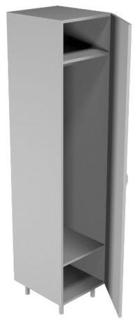Шкаф для одежды односекционный НВ-400 ШО (400*460*1820)