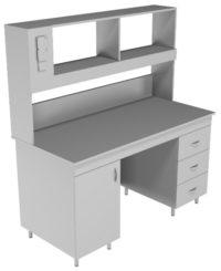 Стол пристенный физический НВ-1500 ПК (1520*700*1650)