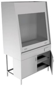 Вытяжной шкаф НВ-1500 ШВ-Б-НЕРЖ (1410*700*1960)
